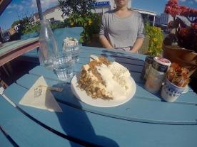 Best carrot cake ever!! Devonport, Nieuw-Zeeland